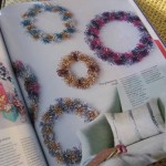 Inspiration: Sparkly Wreaths from Martha Stewart Living