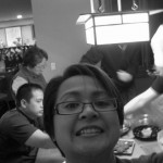 """New Year 2011: """"Self Portrait"""" during dinner"""