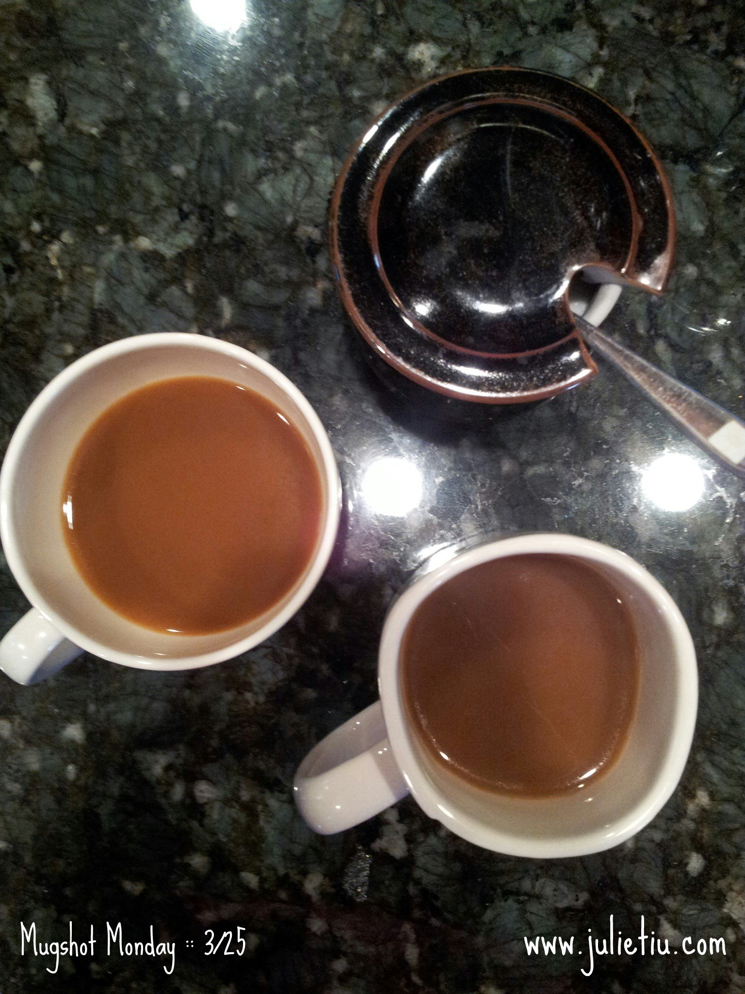 Mugshot Monday: Casi Cielo and soy milk creamer