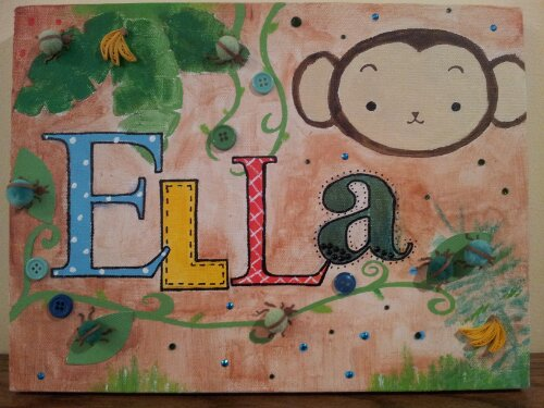 Personalized nursery art