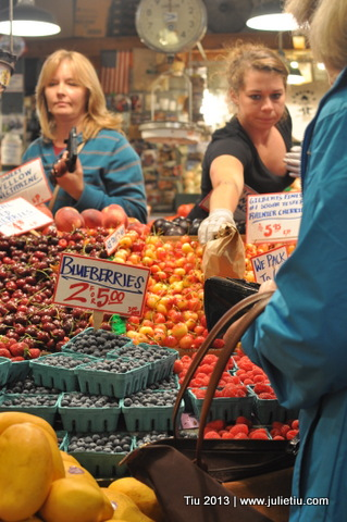 Busy at Pike Place Market