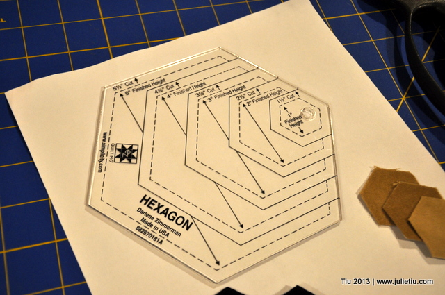 So This is Julie » Blog Archive » How to use an easy hexagon
