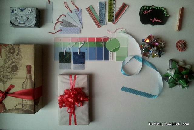 12 Days of Gift Wrapping: Use other paper instead of gift wrap