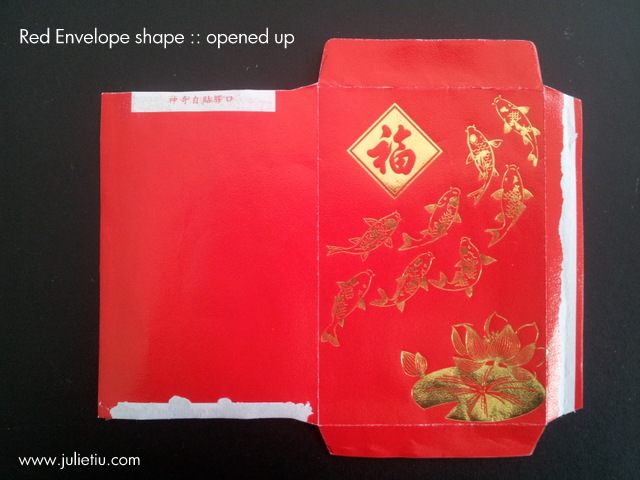 chinese new year making mini envelopes