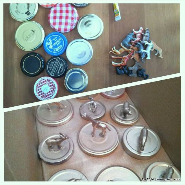 Recycle Glass Jars Fun Party Favor Spray Paint
