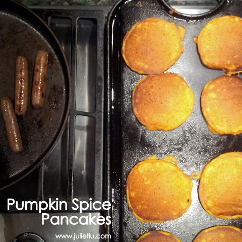 Recipe for Pumpkin Spice Pancakes